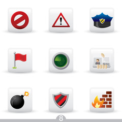 Security - icon series 8