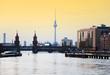 Fototapeten,berlin,sonnenuntergang,skyline,spree
