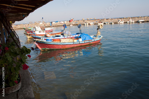 Fishing boats in Turkey
