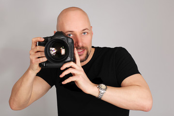 freundlicher Fotograf