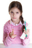 oral  hygiene from  child advice poster