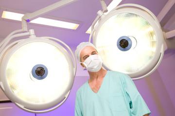Surgeon before operation