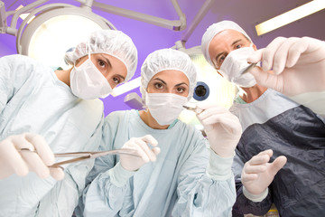 At an operation