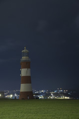 Plymouth Hoe by Night