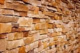 Handcraft Brick Wall poster