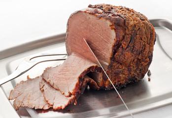 Roast Beef Carved