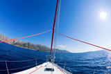 Sailing adventure poster