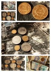 Collection de monnaies