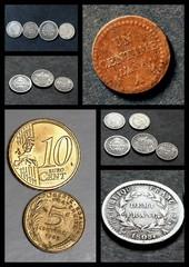 Monnaies anciennes et récentes