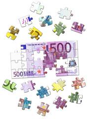 500 Euro Puzzle