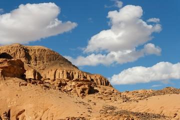 Rocky desert landscape near Eilat in Israel