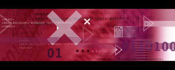 Bannière / Header - Internet et Informatique en Rouge
