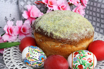 Typical Orthodox Easter still life