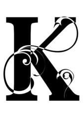 letra K alfabeto