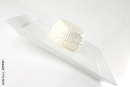 soft light round cheese