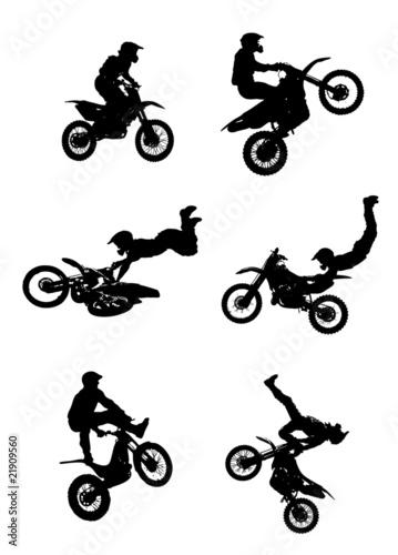 Jumipng motorcycle
