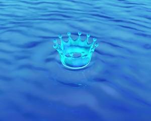 水のクラウン