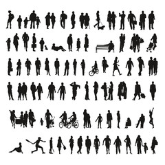 Big collection of silhouettes - Shadows