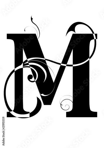 letra M alfabeto