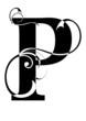 letra P alfabeto