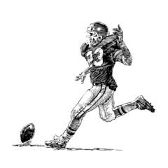 football américain, illustration