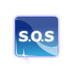 Picto signal SOS - Icon safety call