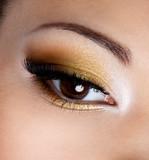 Fototapety Fashion eye makeup