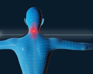 human 3d con pain