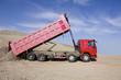 Lorry unload