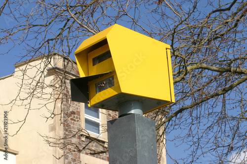 Police speed enforcement camera