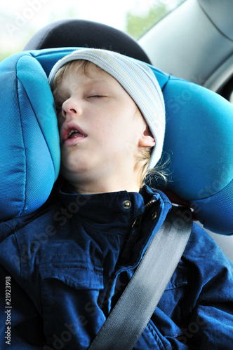 sweet dreams in car