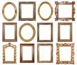 Leinwanddruck Bild - Picture frame