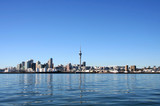 Fototapety Auckland City, New Zealand on a clear sunny morning