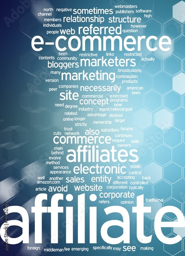 affiliate marketing / E-commerce