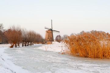Amstel Windmill in Winter