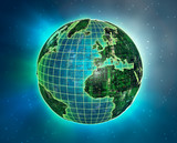 silicon earth 1 poster