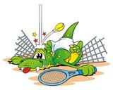 Tennis Croc Desaster poster