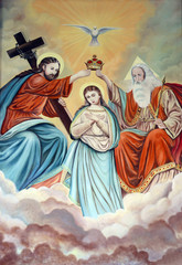 Coronation of Virgin Mary