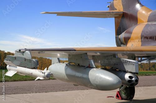 Poster Combat plane