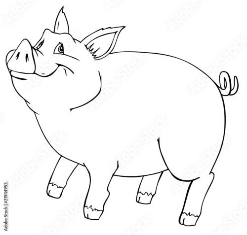 Bleigießen Schwein