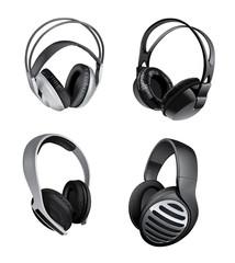 variety of headphones
