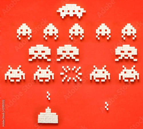 Sugar Space Invaders