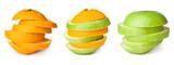 Orange transforming to apple poster