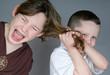 Bully pulling hair - 21953727