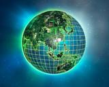 silicon earth 3 poster