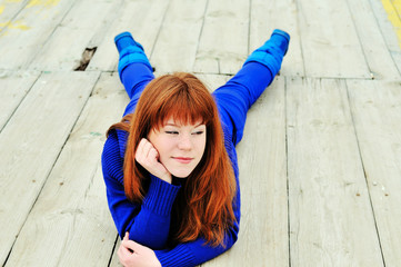cunning redheaded girl
