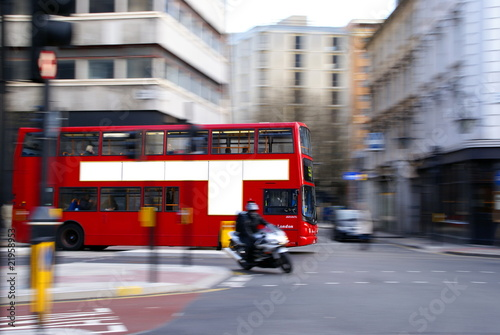 Foto op Canvas Londen rode bus London Bus 2