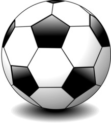 Pallone da Calcio-Soccer Ball-Vector