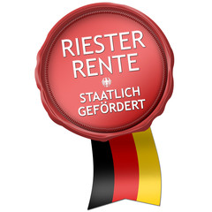 button siegel riester riesterrente