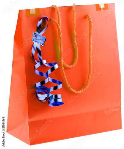 sac emballage cadeau plaisir d 39 offrir fond blanc de unclesam photo libre de droits 21964568. Black Bedroom Furniture Sets. Home Design Ideas